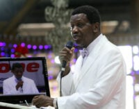 Pastor Adeboye shows he's human as RCCG Congress ends