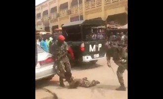 Army demotes, jails soldiers who brutalised physically-challenged man