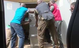 PHOTOS: The foreign currencies allegedly recovered from ex-NNPC boss