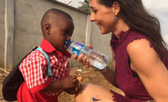 From witch child to school child… Hope's amazing journey to a new life