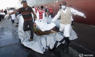 Bodies of 74 migrants found on Libyan shore