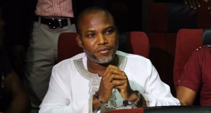 IPOB: South-east will be on lockdown every Monday till Nnamdi Kanu is freed