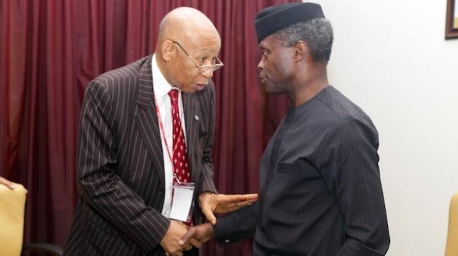 MTN Nigeria CEO, South African chairman visit Osinbajo