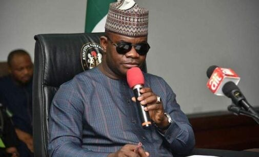 Yahaya Bello: There'll be peace when politicians stop engaging thugs