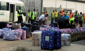 PHOTOS: 41 UK deportees arrive Lagos