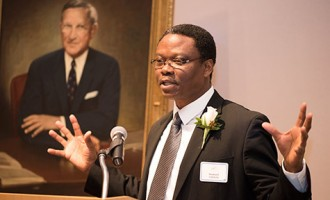CLOSE-UP: Achilefu, the 'civil war kid' who won US award for inventing goggles that see cancer cells