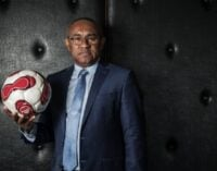 Ahmad, Hayatou's rival for CAF presidency, in Nigeria to meet Saraki, Dalung
