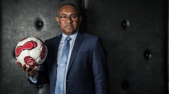 Ahmad, Hayatou's rival for CAF presidency, in Nigeria to meet Saraki, Dalung