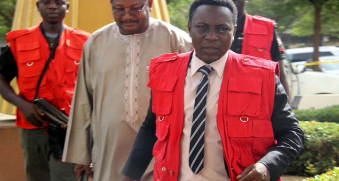 Court rejects EFCC's request to amend 'money laundering' charges against Yakubu, ex-NNPC GMD