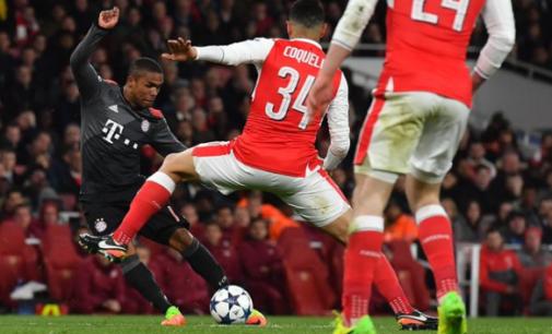 Iwobi absent as Arsenal suffer Bayern humiliation