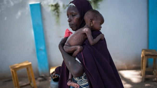 Malnutrition 'kills 240 displaced children' in Borno
