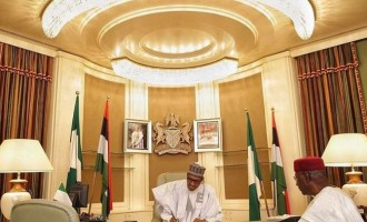 Buhari writes national assembly, says 'I have resumed'
