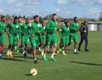 Nigeria maintain 40th position in FIFA rankings