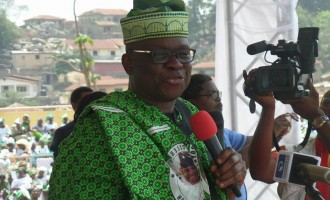 Fayose: ‎I'll snatch power from Buhari… I'm the next president