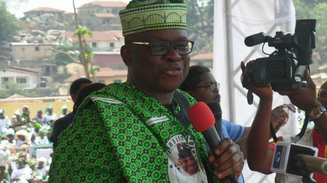 Chibok girls used to divert attention from Buhari's health, says Fayose