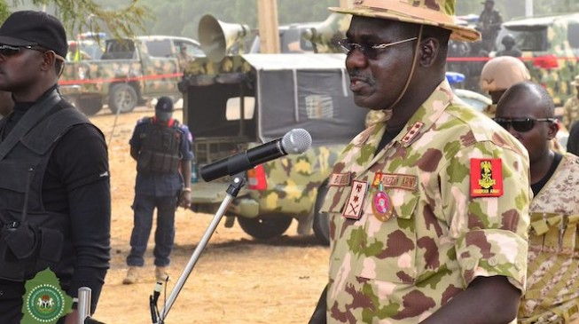 Buratai tells troops to go into bushes, forests to clear out Boko Haram insurgents