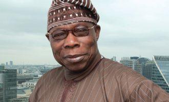 Drama as Obasanjo storms PDP rally in Ogun