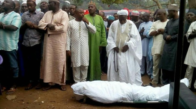 Tears as Onukaba is laid to rest