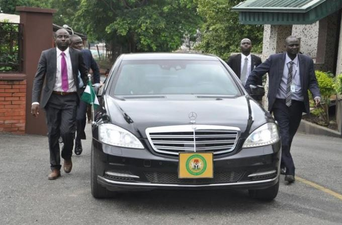 Osinbajo Car