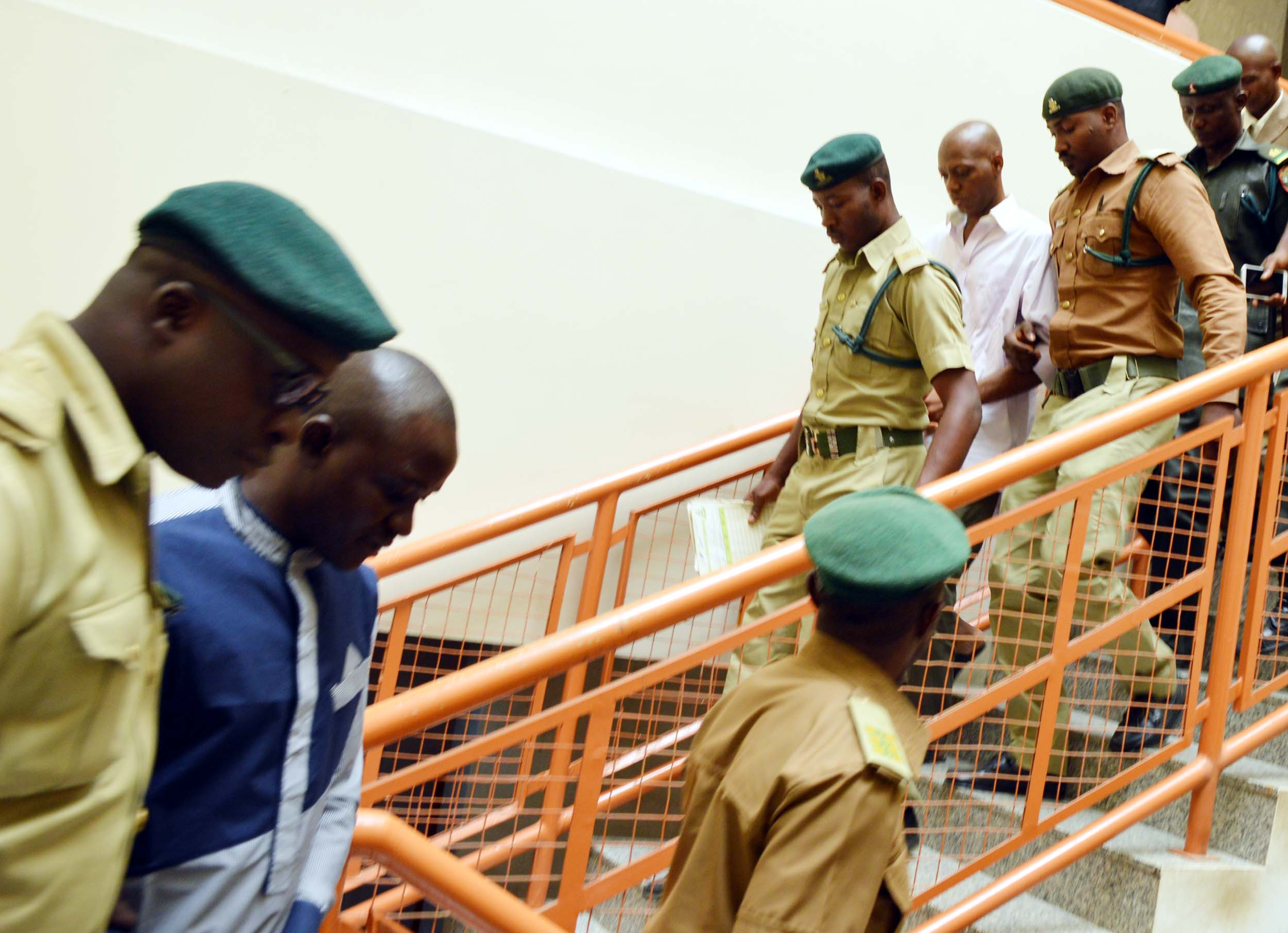 PIC.1. FCT HIGH COURT SENTENCES TWO EX-POLICEMEN TO DEATH OVER APO SIX KILLING IN ABUJA