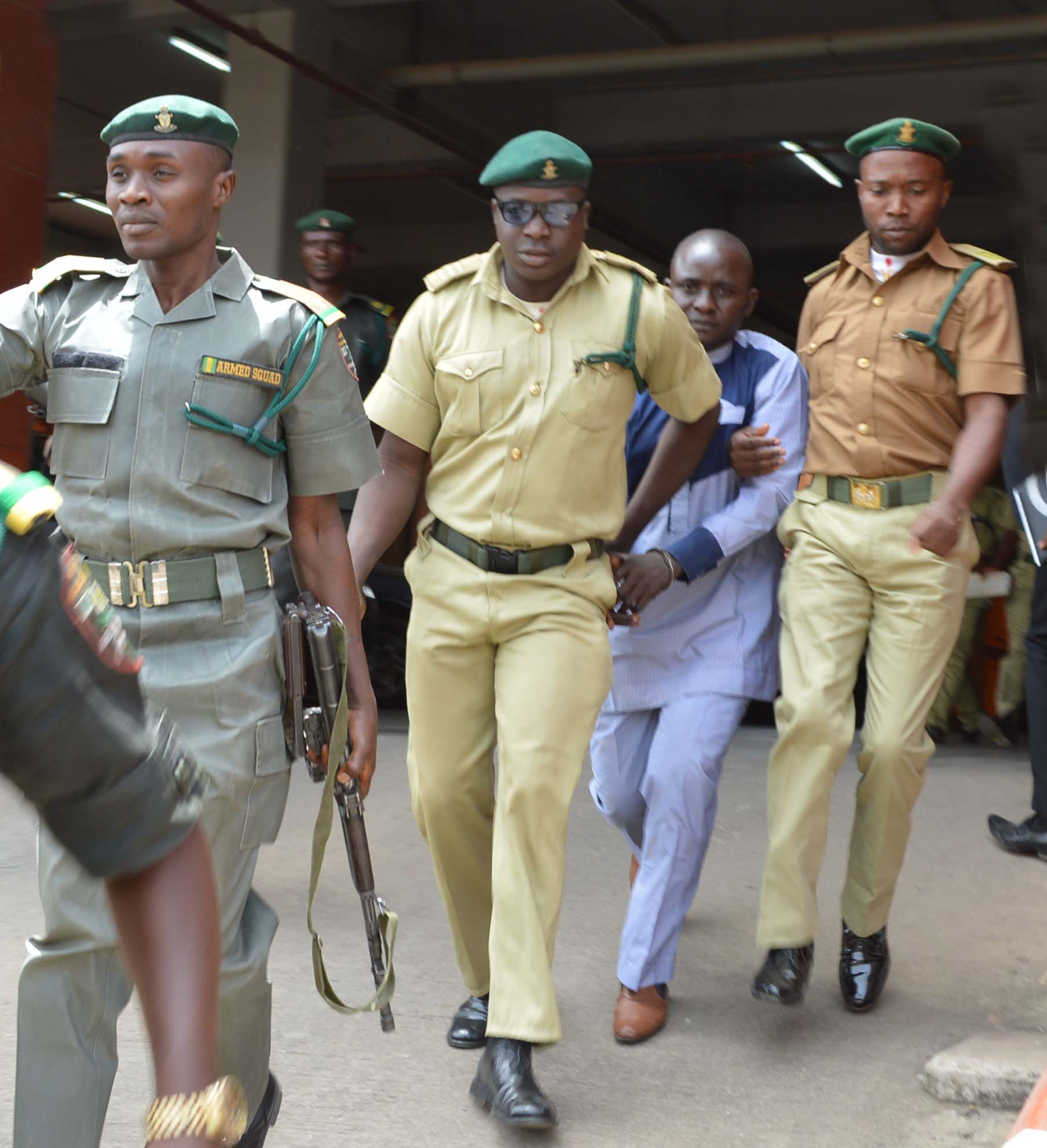 PIC.2. FCT HIGH COURT SENTENCES TWO EX-POLICEMEN TO DEATH OVER APO SIX KILLING IN ABUJA