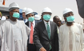 Emefiele, Ogbeh visit 'first planned and completed' rice mill under Buhari