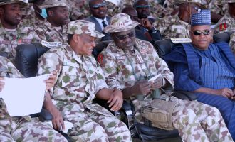 Defence minister asks Buratai to remain in north-east till security improves