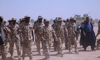 'There's no better time than now' — Buratai asks his men to destroy Boko Haram