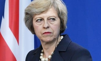 Theresa May admits shedding a little tear over UK poll result