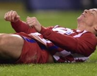 Torres hospitalised after suffering severe head injury