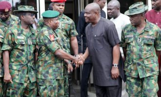 Military has lost its integrity, says Wike