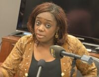 PDP to May: Don't shelter Adeosun in UK