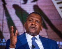 We should pray that oil prices remain low, says Dangote