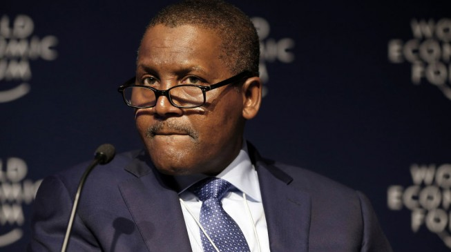 Dangote is only African among Bloomberg's 50 most influential people
