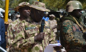 Army clears 593 Boko Haram suspects, hands them over to Borno govt