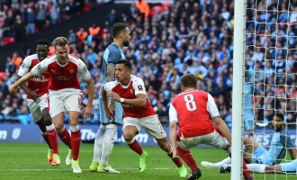 Arsenal pip City 2-1, to face Chelsea in FA Cup final