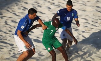 Beach Soccer World Cup: Nigeria's Sand Eagles spanked by Italy