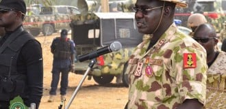 Bandits don't come from the moon, says Buratai