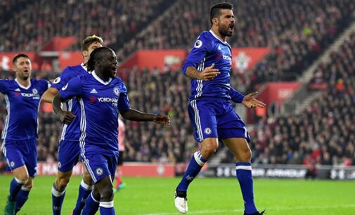 Moses instrumental in Chelsea's humbling of Southampton