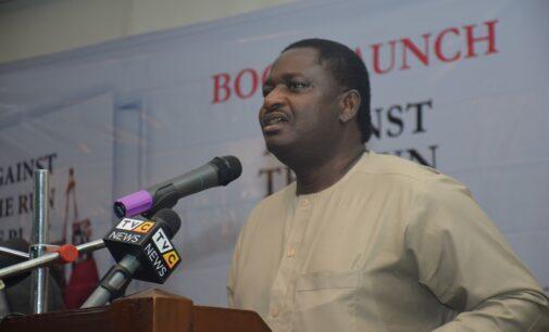 Femi Adesina to Atiku: Mind your language against Buhari