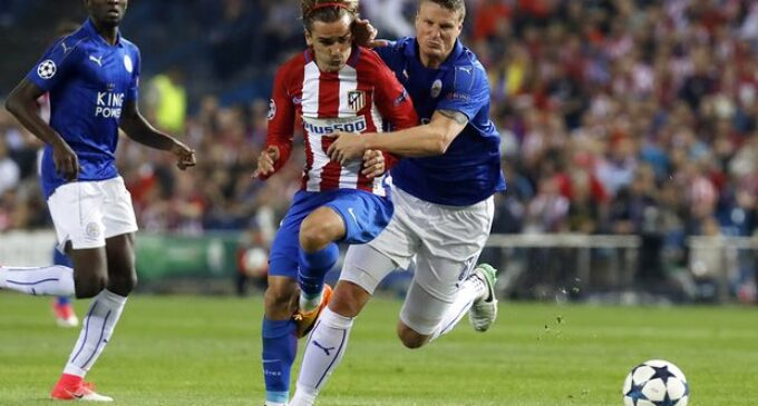 Ndidi's Leicester suffer controversial loss to Atlético Madrid