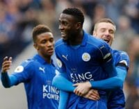 Ndidi's wonder goal nominated for EPL goal of the week