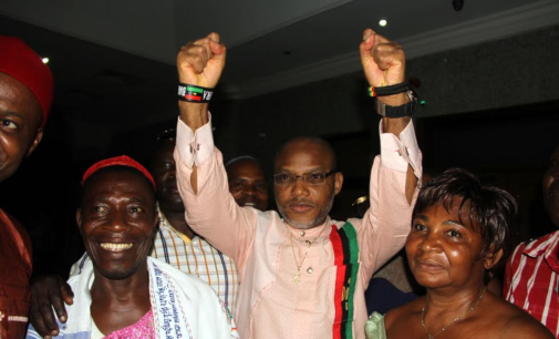 My son won't stop demanding Biafra, says Kanu's father