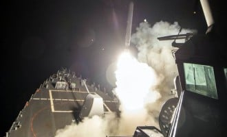 US attacks Syrian air base with 59 cruise missiles