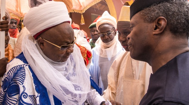 Northern elders to Osinbajo: Don't allow yourself to be pitched against Buhari