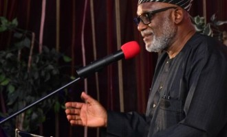Four commissioners, two special advisers quit Akeredolu's cabinet