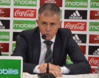 Russia 2018: If we beat Zambia, we'll face Nigeria with high morale, says Algeria's coach