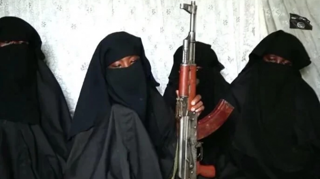 'Chibok girl' wields AK-47 in new Boko Haram video