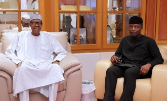 Did PMB just downgrade Osinbajo from 'acting president' to 'coordinating president'?