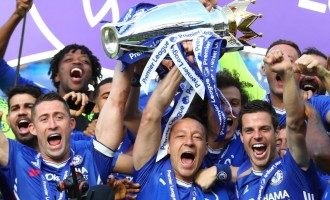Chelsea lift EPL trophy as Terry bows out